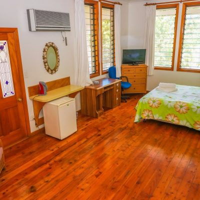 master bedroom in Samoa